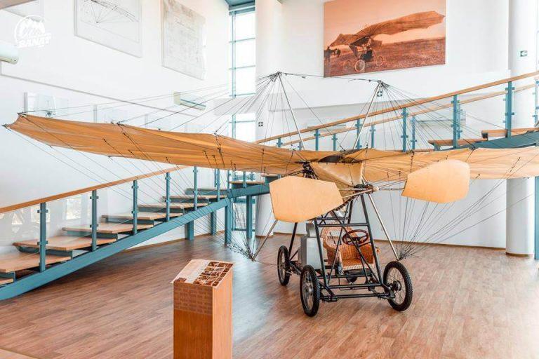 "Avionul ""Vuia I"" din Muzeul Traian Vuia, comuna Traian Vuia, județul Timiș"