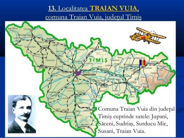 Localitatea Traian Vuia, comuna Traian Vuia, județul Timiș