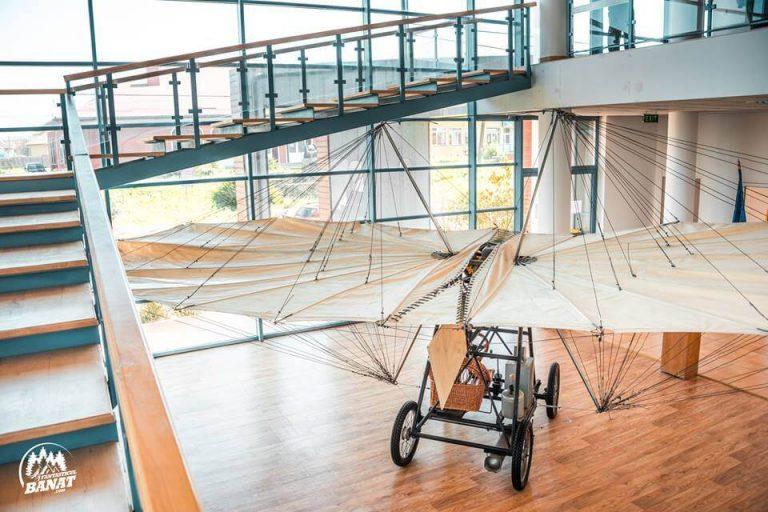 "Avionul ""Vuia I"" din Muzeul Traian Vuia"